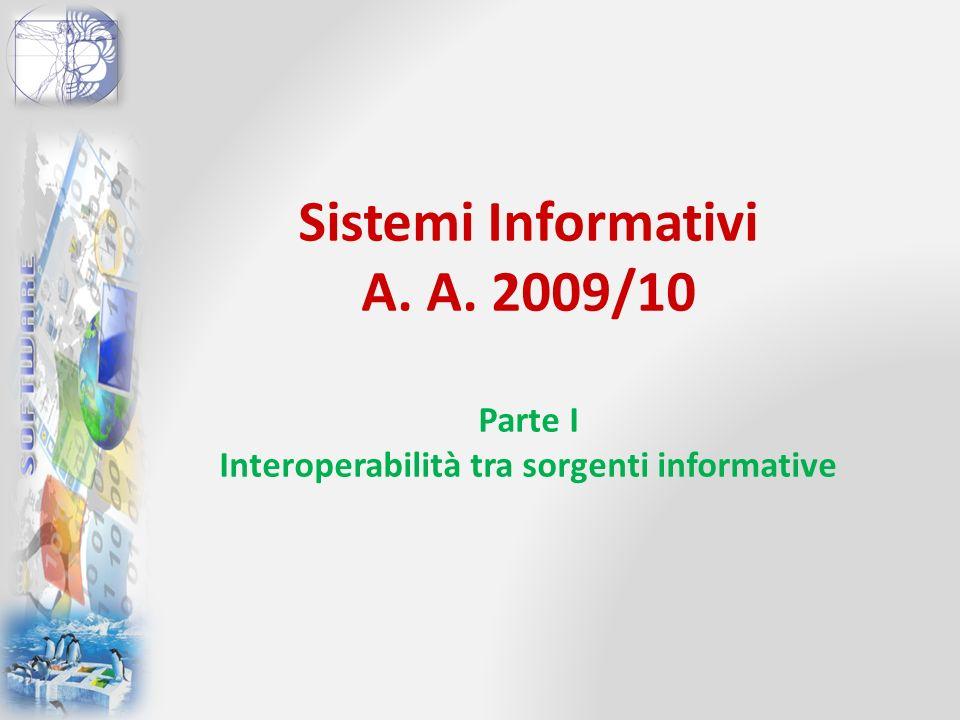 Sistemi Informativi A. A
