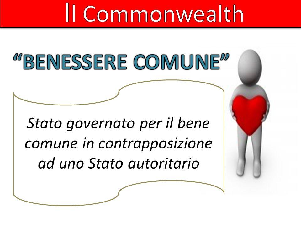 Il Commonwealth BENESSERE COMUNE