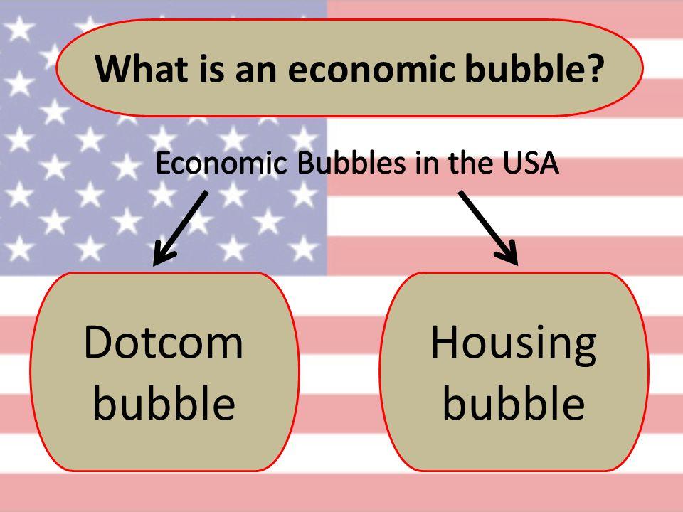 What is an economic bubble