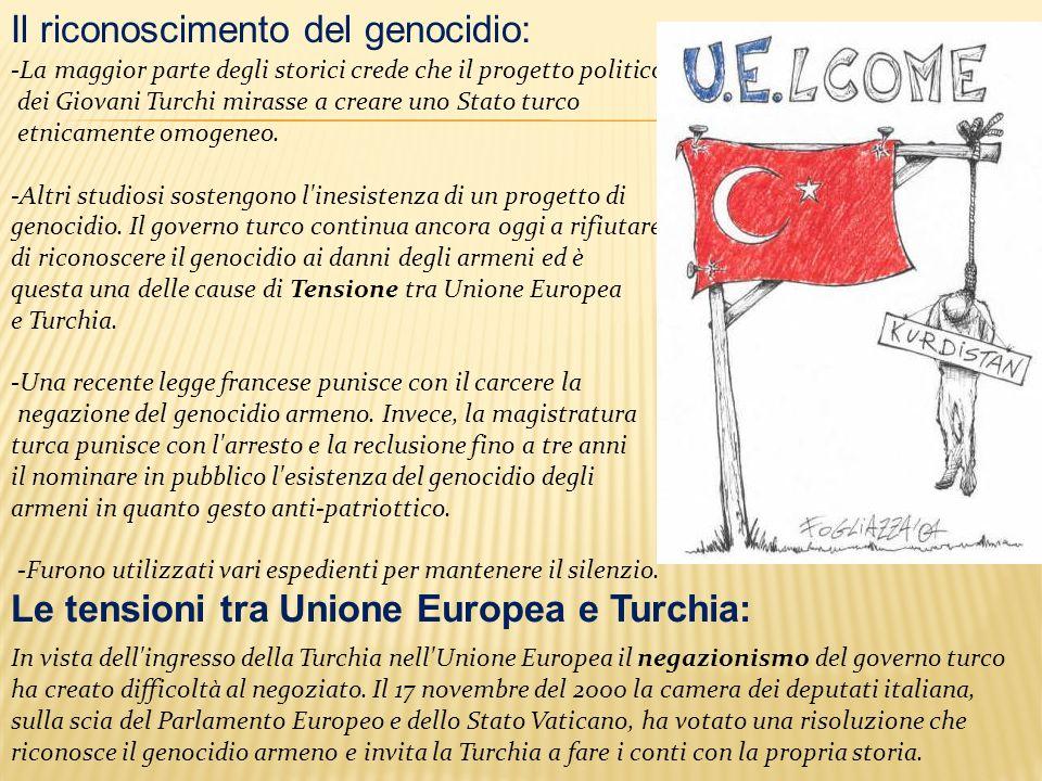 Il riconoscimento del genocidio:
