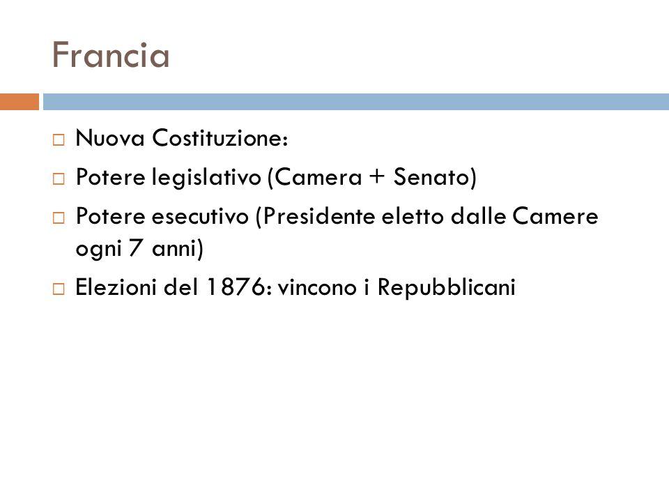 Francia Nuova Costituzione: Potere legislativo (Camera + Senato)