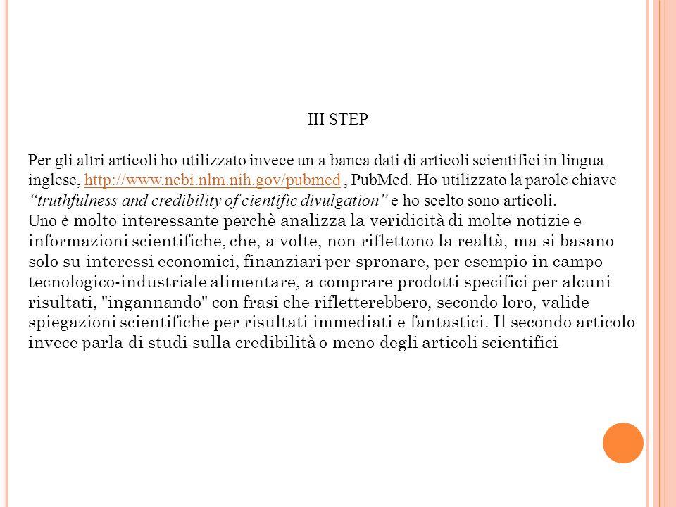 III STEP