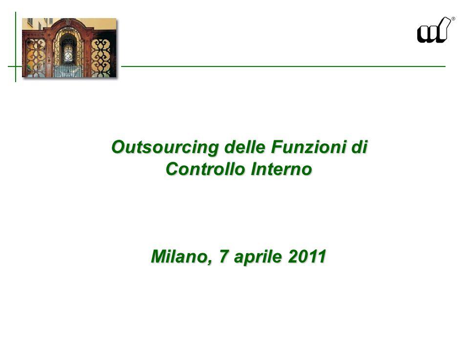 Outsourcing delle Funzioni di