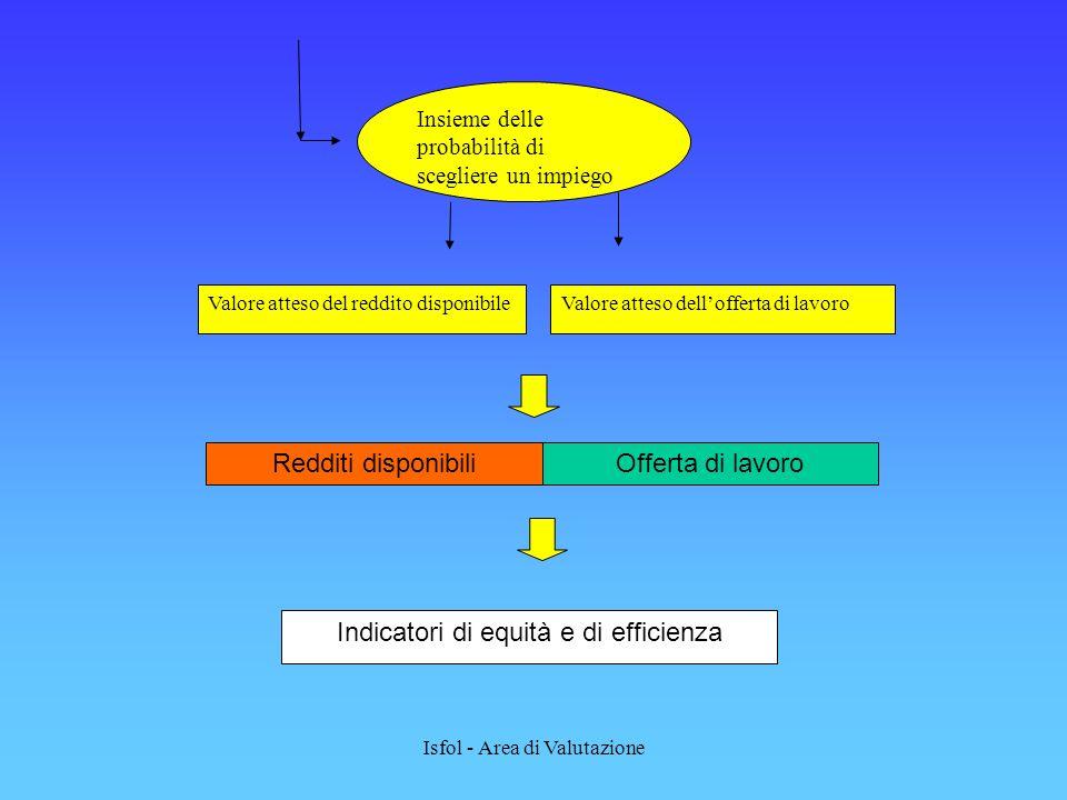 Indicatori di equità e di efficienza