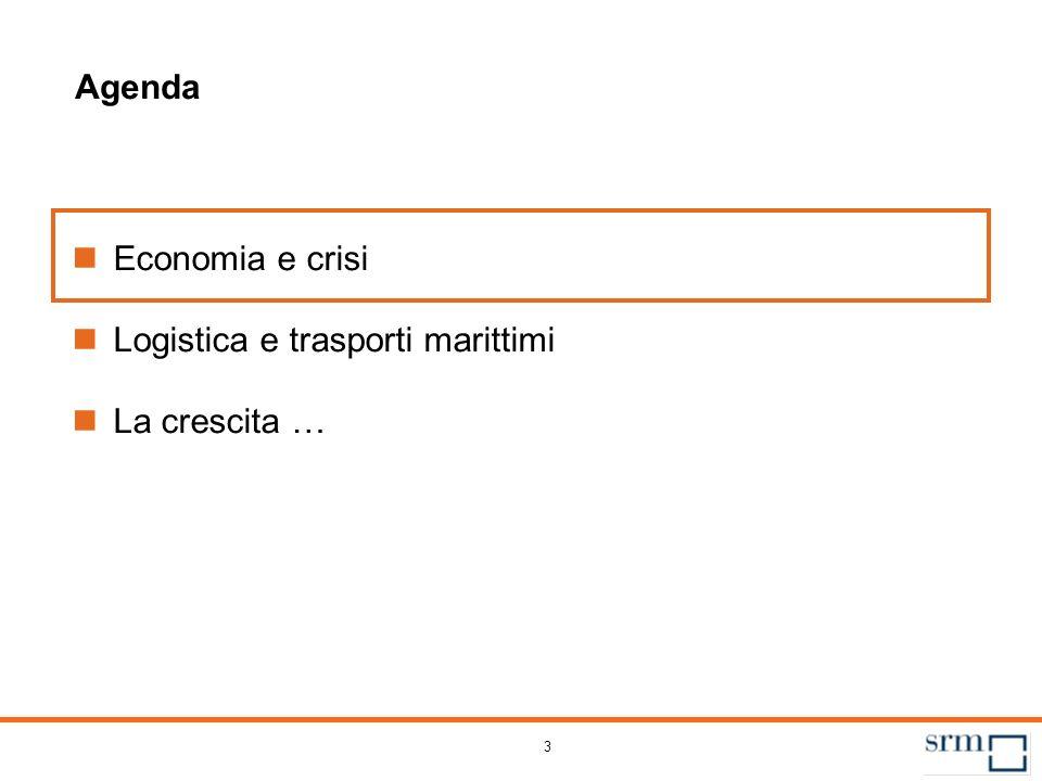 La crisi economica e il settore marittimo