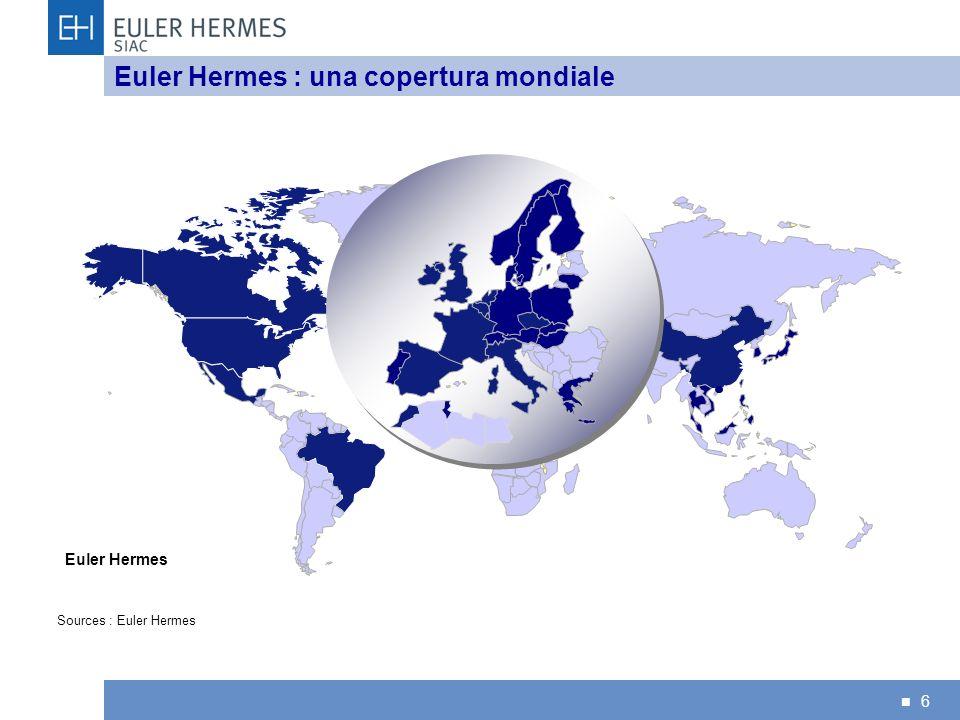 Euler Hermes : una copertura mondiale