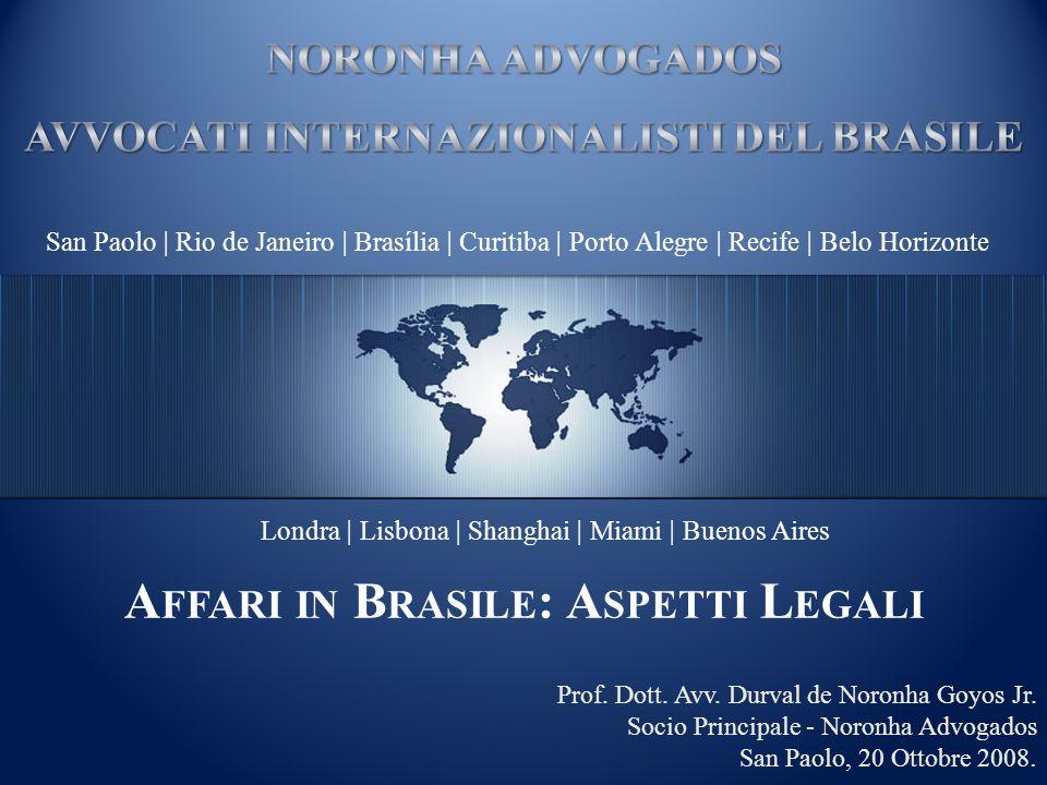 Affari in Brasile: Aspetti Legali