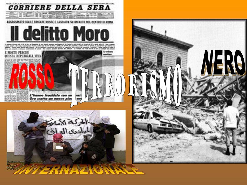 NERO TERRORISMO ROSSO INTERNAZIONALE