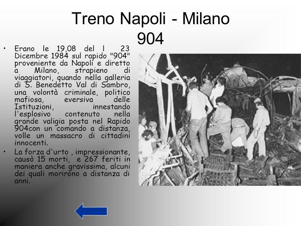 Treno Napoli - Milano 904