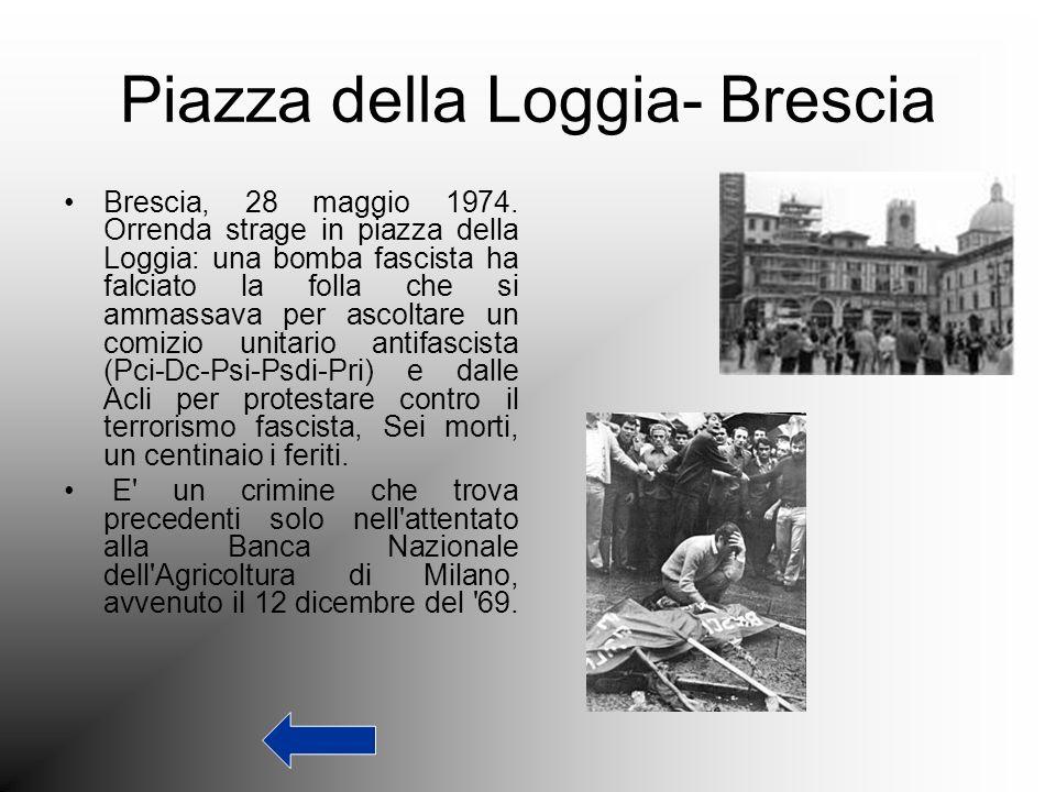 Piazza della Loggia- Brescia