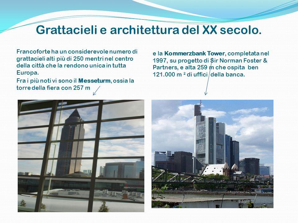 Grattacieli e architettura del XX secolo.
