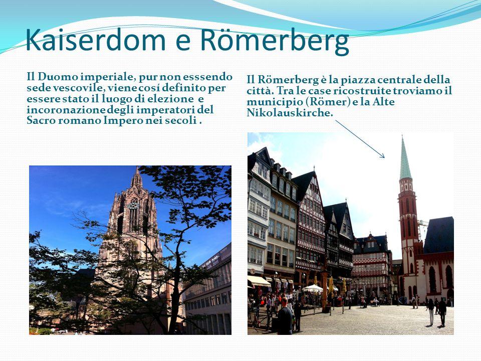 Kaiserdom e Römerberg