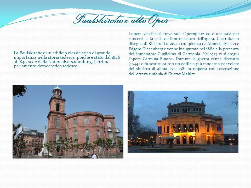 Paulskirche e alte Oper