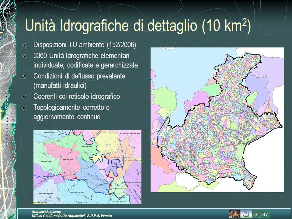 Unità Idrografiche di dettaglio (10 km2)