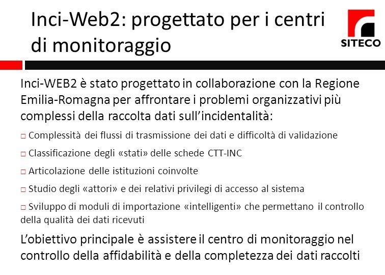 Inci-Web2: progettato per i centri di monitoraggio