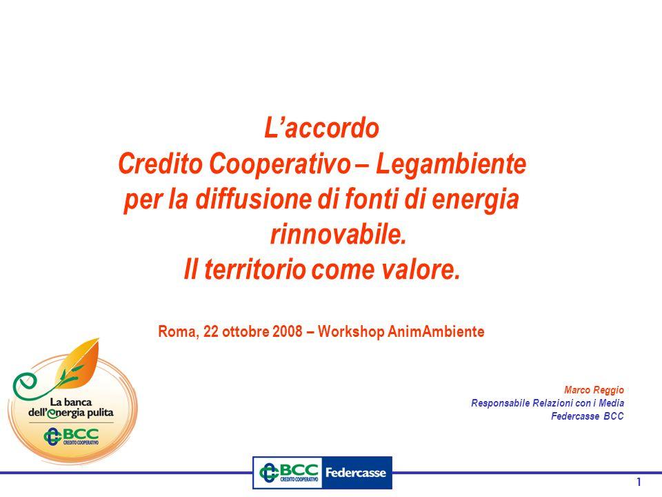 Credito Cooperativo – Legambiente