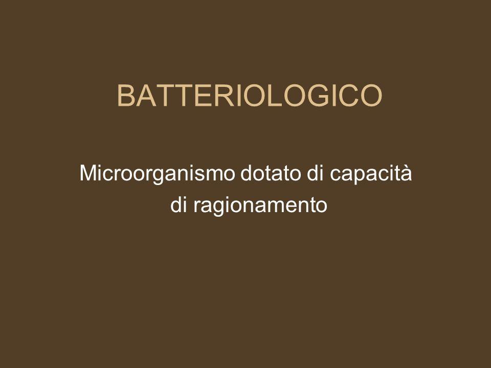 Microorganismo dotato di capacità