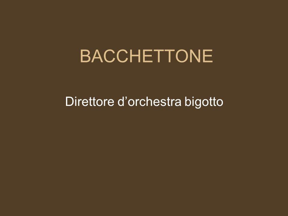 Direttore d'orchestra bigotto