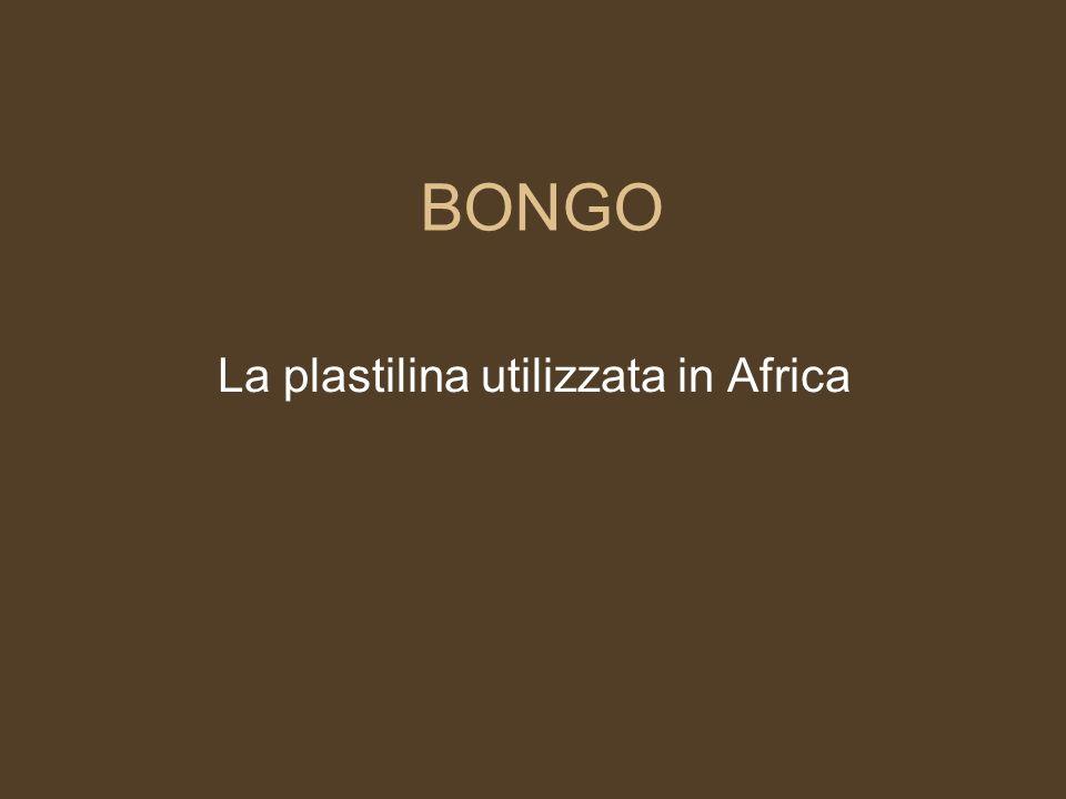 La plastilina utilizzata in Africa