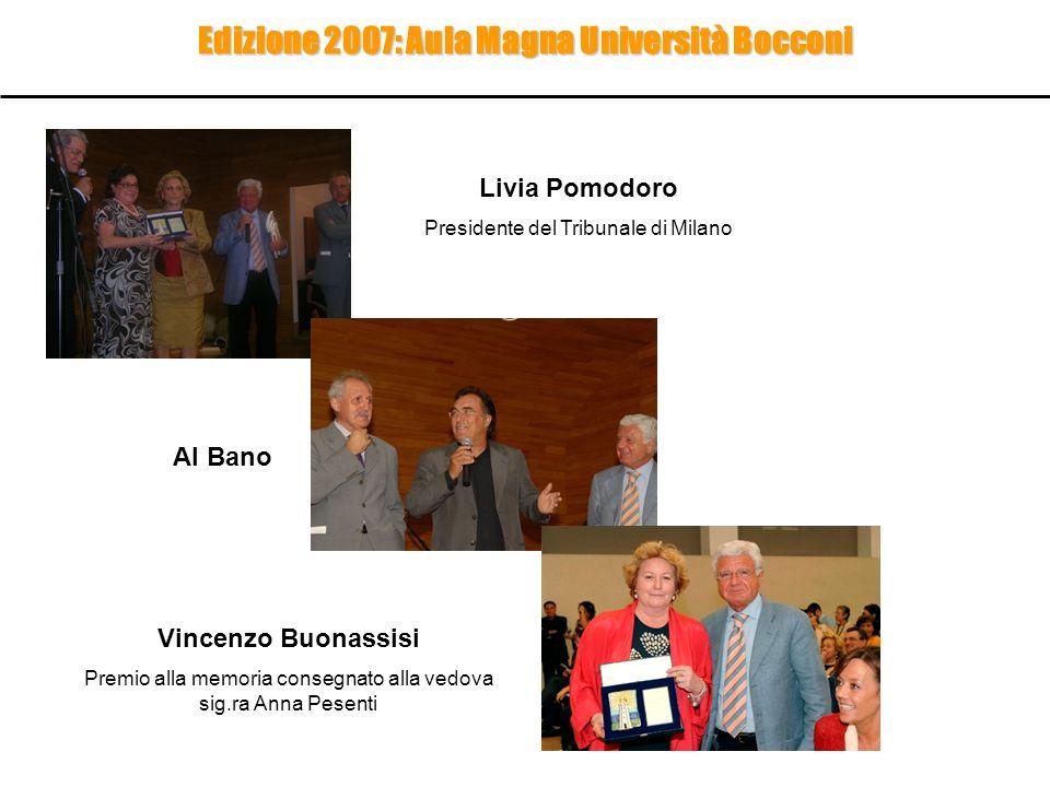 Edizione 2007: Aula Magna Università Bocconi