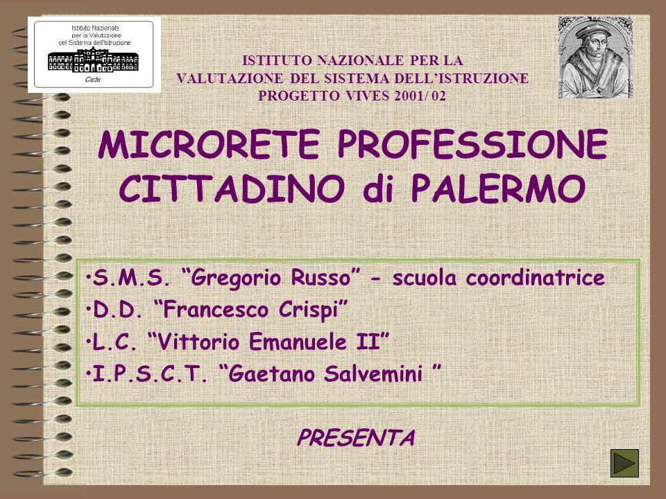 S.M.S. Gregorio Russo - scuola coordinatrice D.D. Francesco Crispi