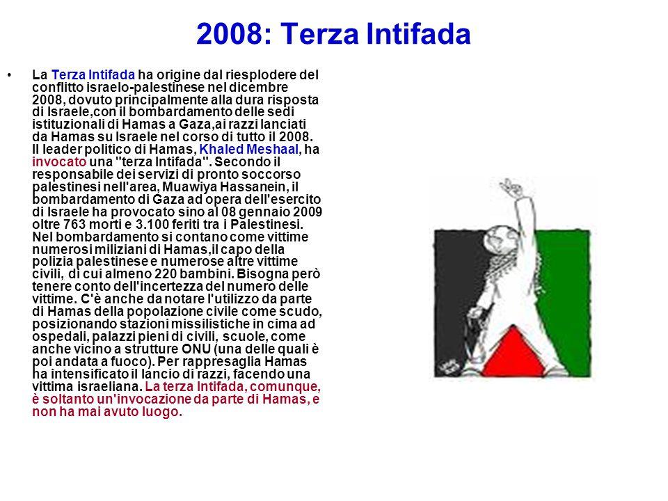 2008: Terza Intifada