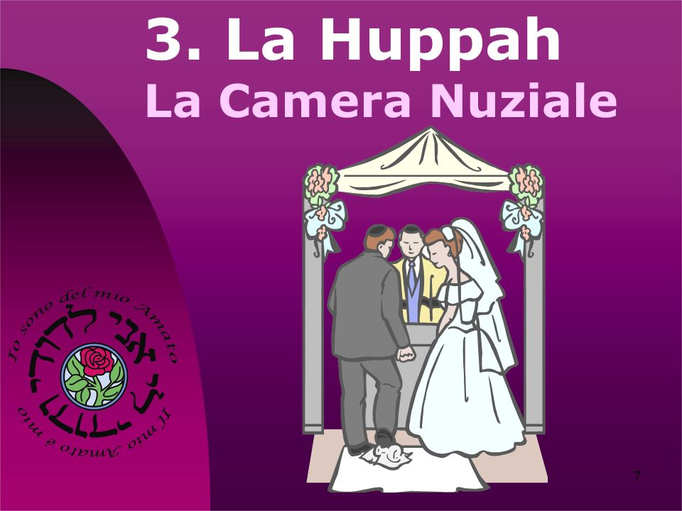 3. La Huppah La Camera Nuziale