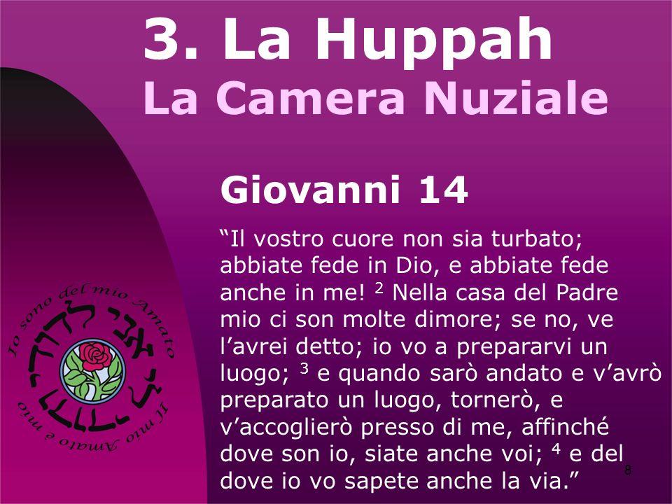 3. La Huppah La Camera Nuziale Giovanni 14
