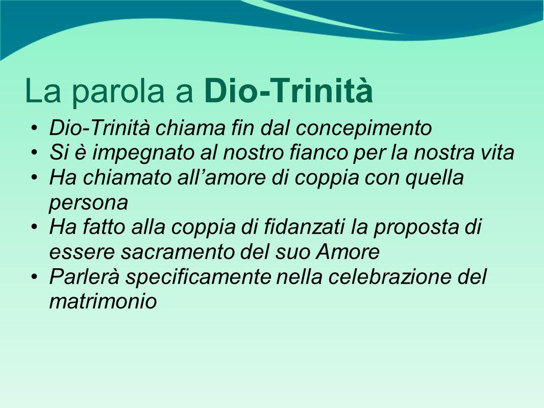 La parola a Dio-Trinità