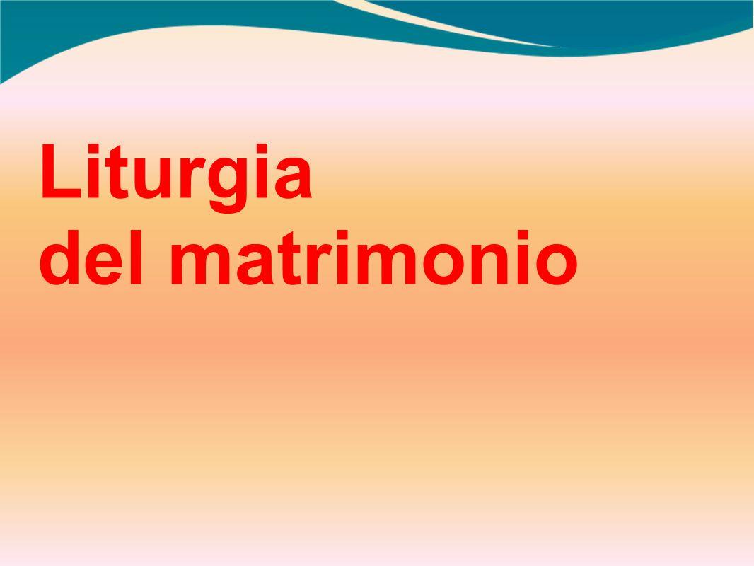 Liturgia del matrimonio