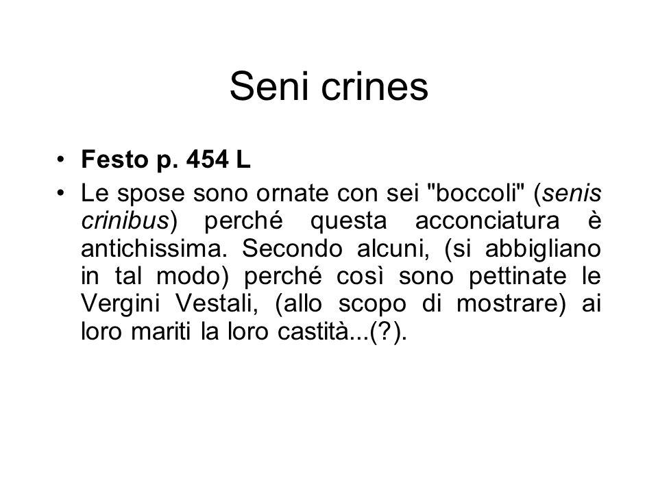 Seni crines Festo p. 454 L.