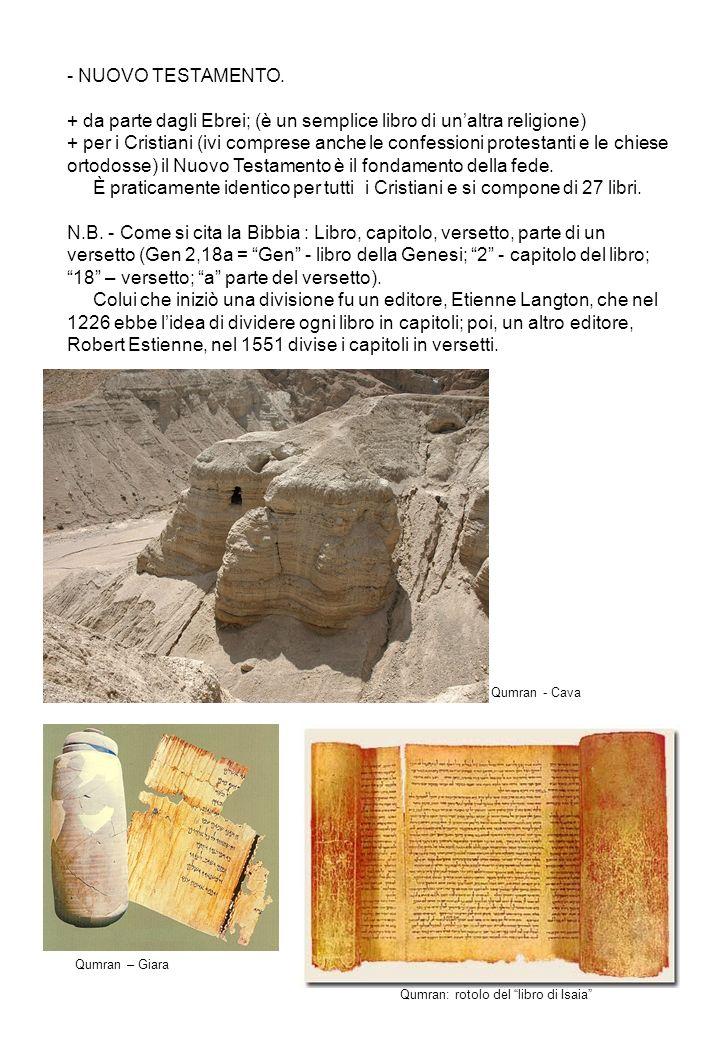 Qumran: rotolo del libro di Isaia