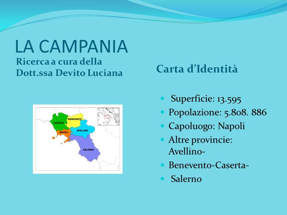 LA CAMPANIA Carta d'Identità