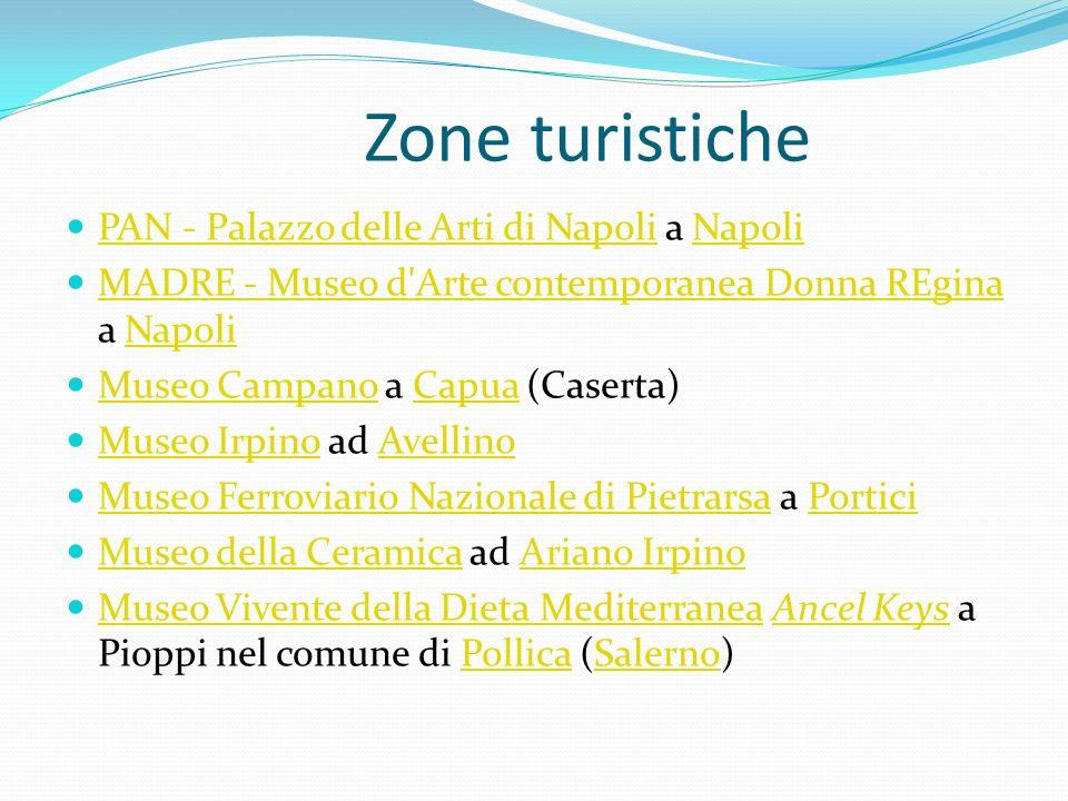 Zone turistiche PAN - Palazzo delle Arti di Napoli a Napoli