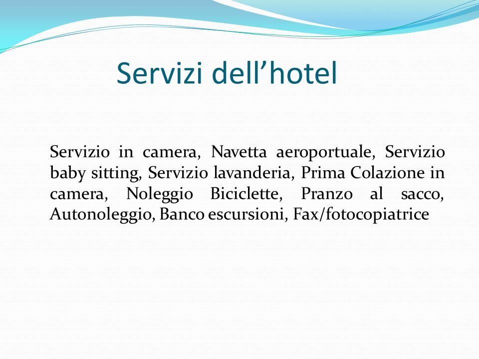 Servizi dell'hotel