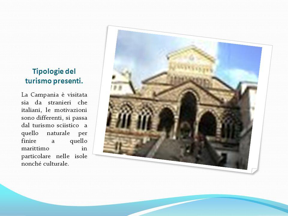 Tipologie del turismo presenti.