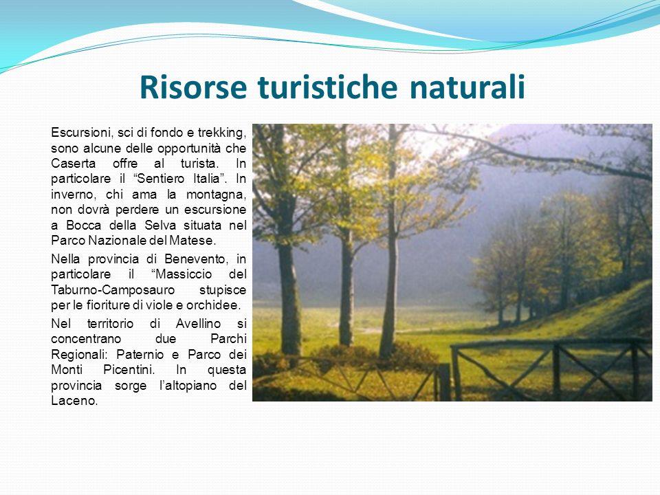 Risorse turistiche naturali
