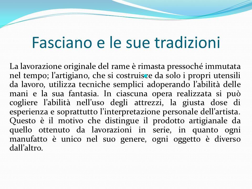 Fasciano e le sue tradizioni
