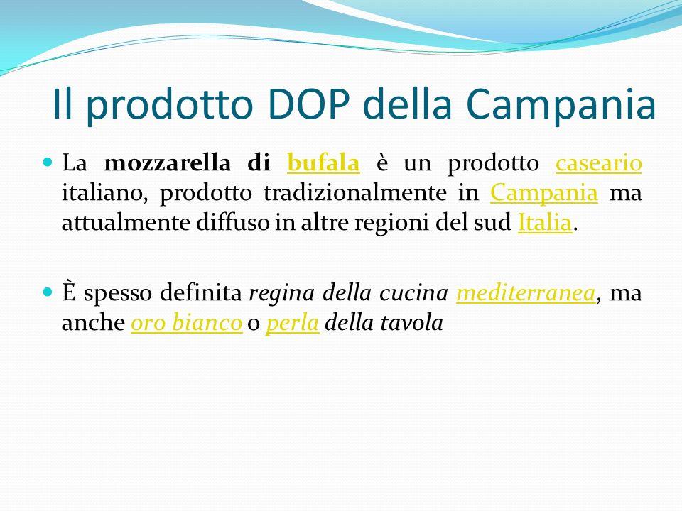 Il prodotto DOP della Campania