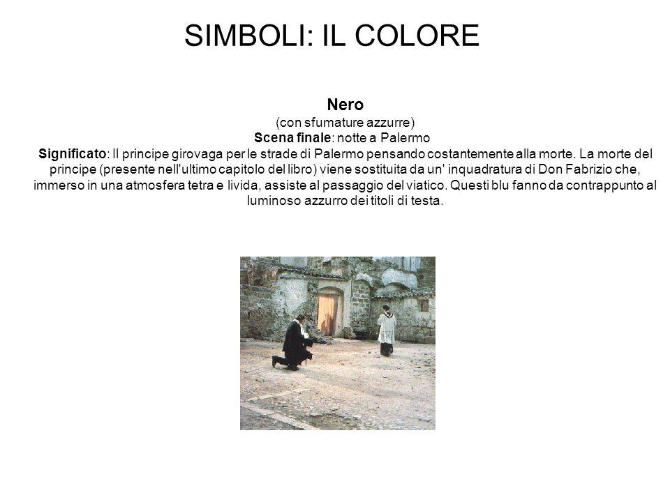 SIMBOLI: IL COLORE Nero (con sfumature azzurre)