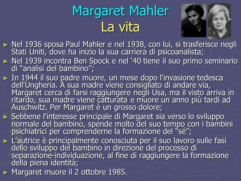Margaret Mahler La vita