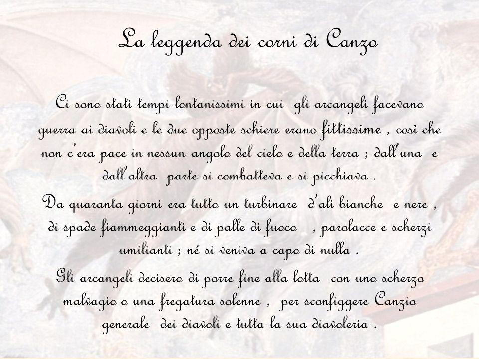 La leggenda dei corni di Canzo