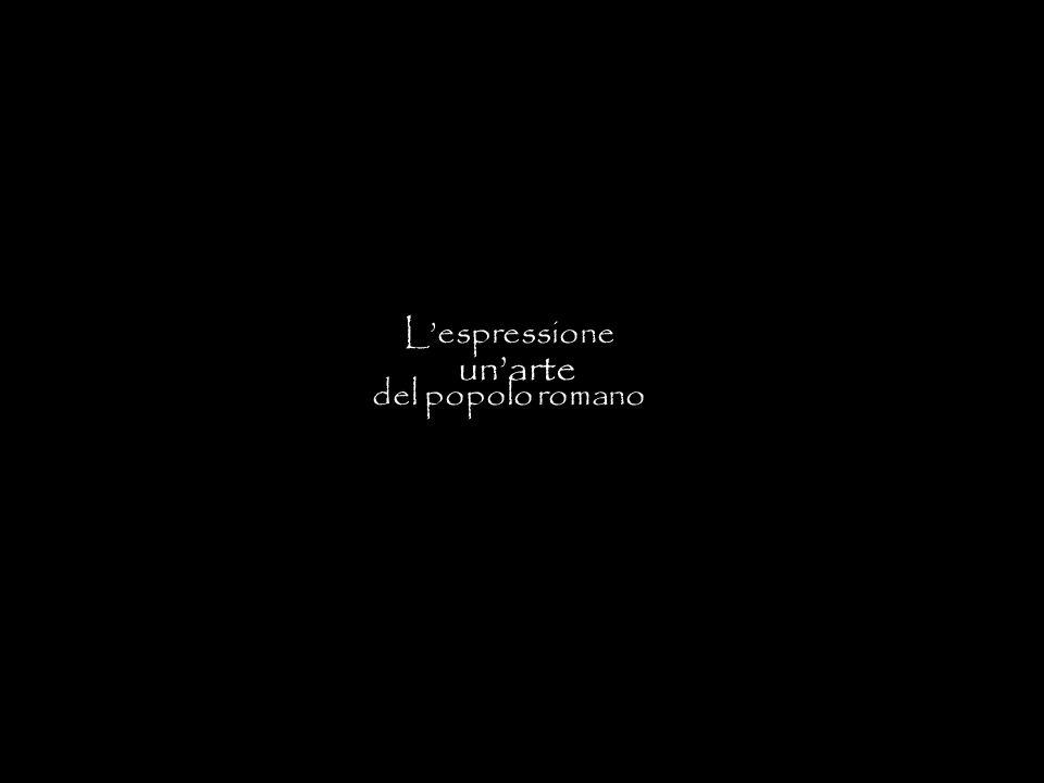 L'espressione del popolo romano un'arte