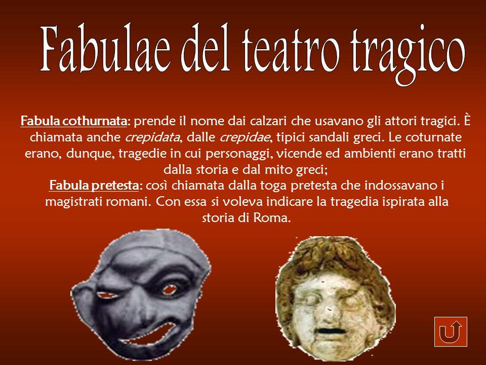 Fabulae del teatro tragico