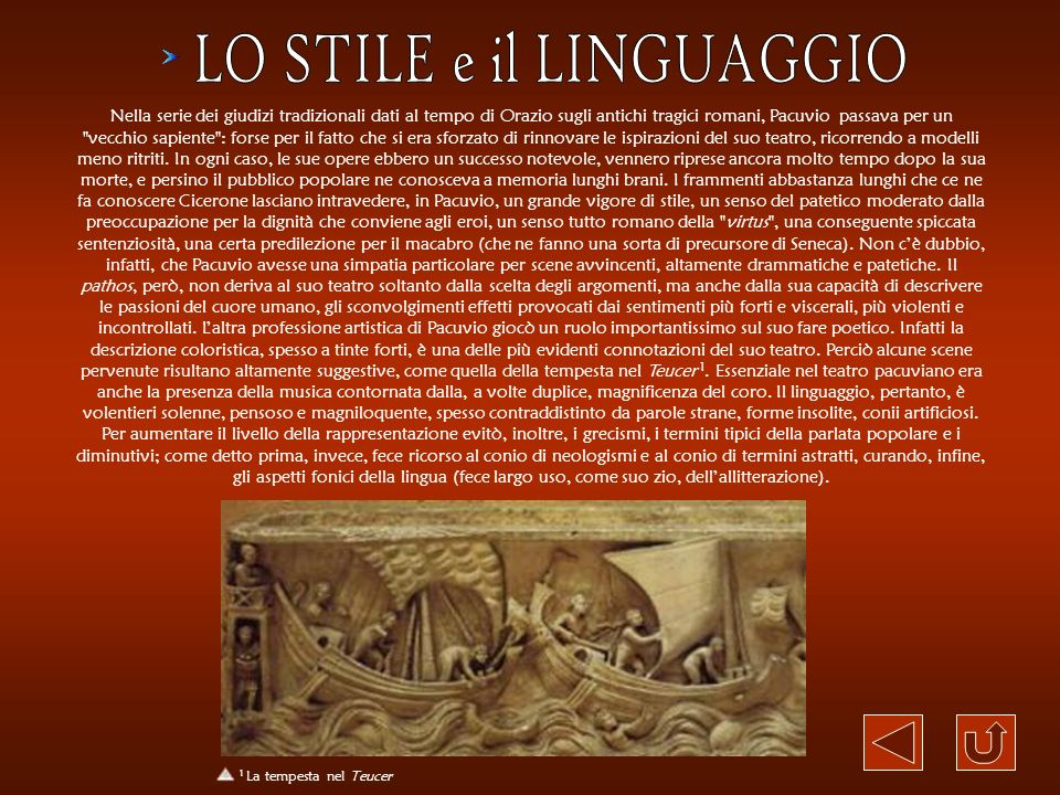 LO STILE e il LINGUAGGIO