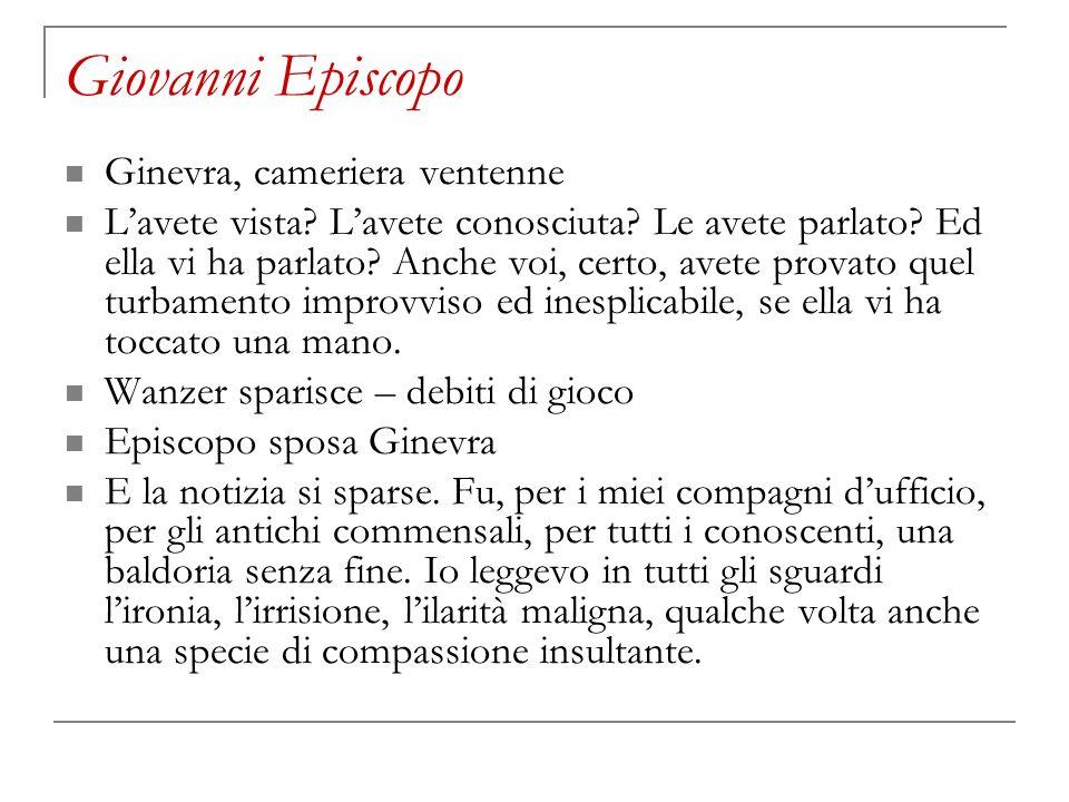 Giovanni Episcopo Ginevra, cameriera ventenne