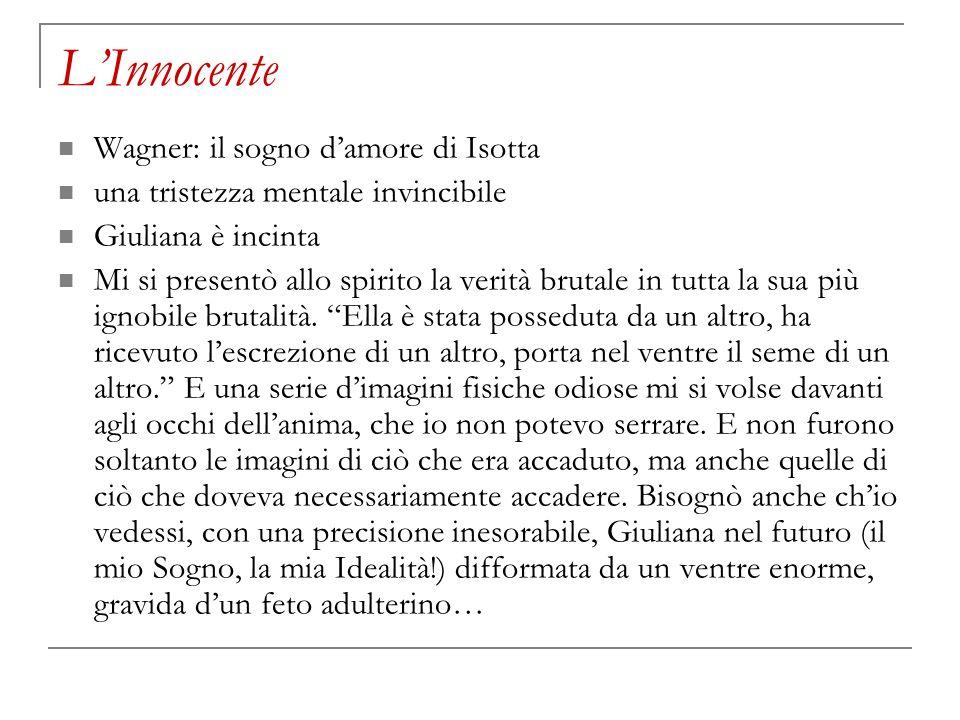 L'Innocente Wagner: il sogno d'amore di Isotta