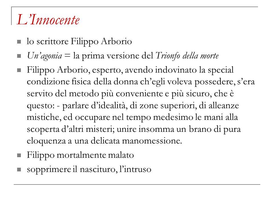 L'Innocente lo scrittore Filippo Arborio
