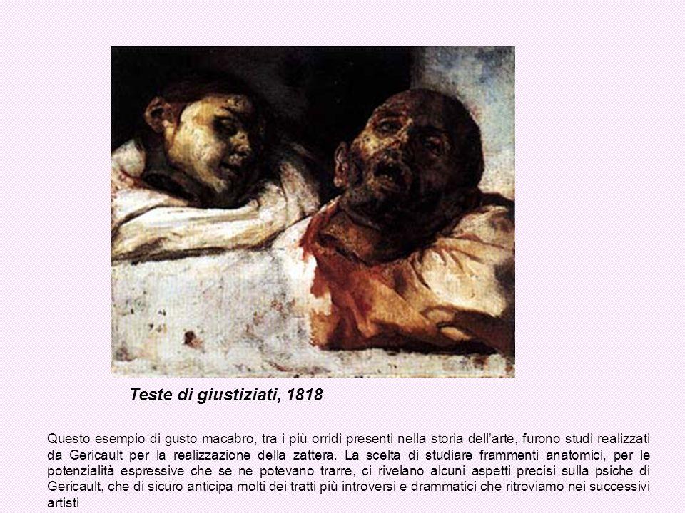 Teste di giustiziati, 1818