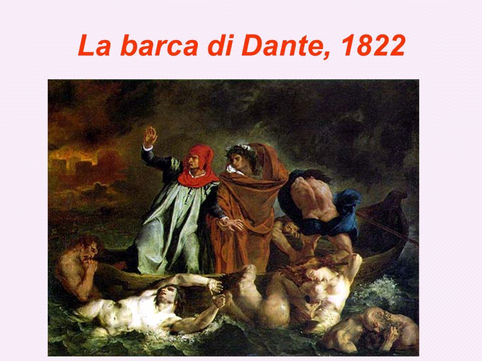 La barca di Dante, 1822